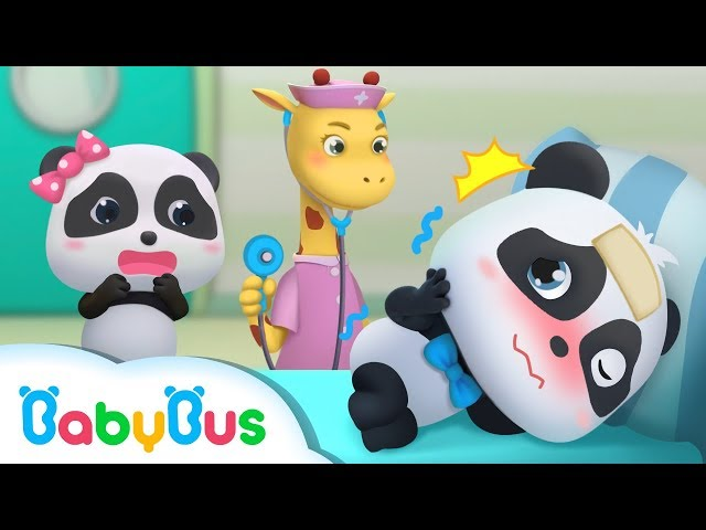 Baby Panda Pretends to Catch a Cold   Magical Chinese Characters   BabyBus Cartoon