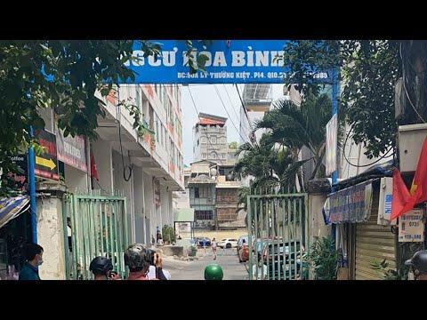 Phong tỏa chung cư Hòa Bình (TP.HCM) nơi ca thứ 48 ở | Hoàng Lê