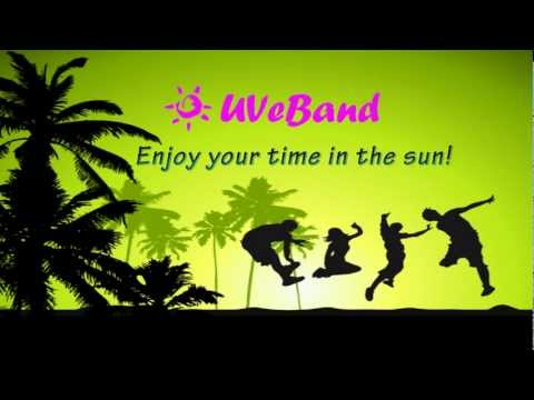 Uveband - the wristband that monitors actual UV exposure. Kickstarter crowd funding project