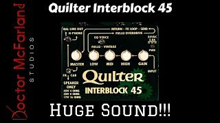 Quilter Interblock 45 Review // Huge Sound!!!