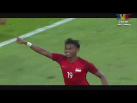 Singapore vs Malaysia 1 - 2  2017