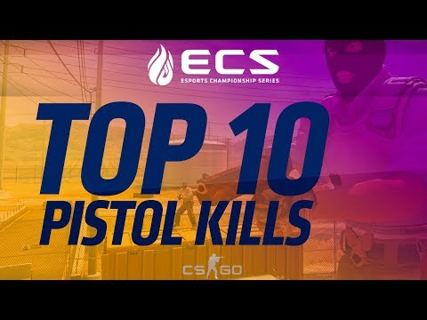Top 10 Pistol Kills from ECS Season 4