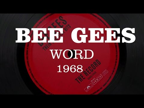 The Bee Gees - Words 1968 - HD