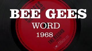 The Bee Gees Words 1968 - HD.mp3
