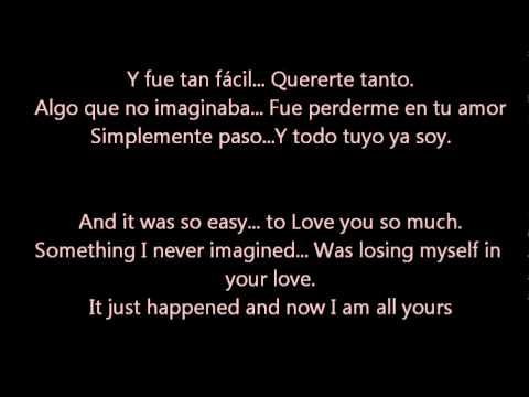 Todo Cambio  Camila Spanish & English Lyrics