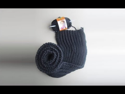 How To Knit A Scarf For Men Pattern 30by Thepatternfamily Youtube