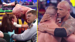 5 Saddest WWE WrestleMania Moments The Rock John Cena Triple H Stephanie McMahon