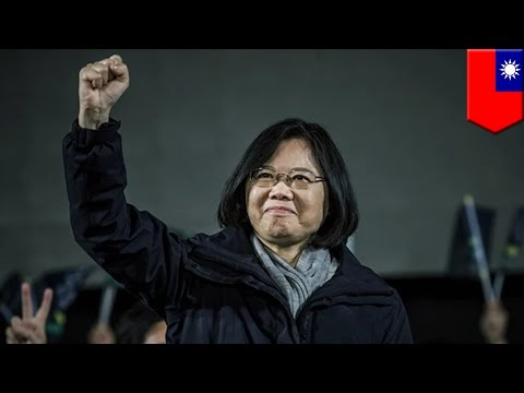 Taiwan Elections 2016: Tsai Ing-wen wins landslide victory, becomes 1st Taiwanese female president