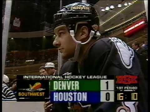 1995-01-04 Houston Aeros Vs Denver Grizzlies