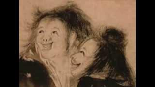 Kanzan and Jittoku : Sweeping Cosmic Laughing Brooms