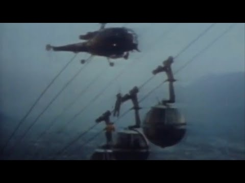 CABLE CAR DISASTER Incident Du Téléphérique De La Bastille Grenoble, France 1976 Helicopter Rescue