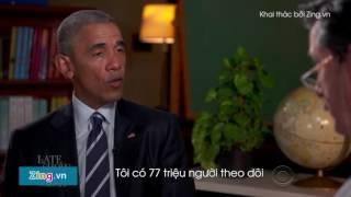 obama tập dượt phỏng vấn xin việc sau khi rời nh trắng