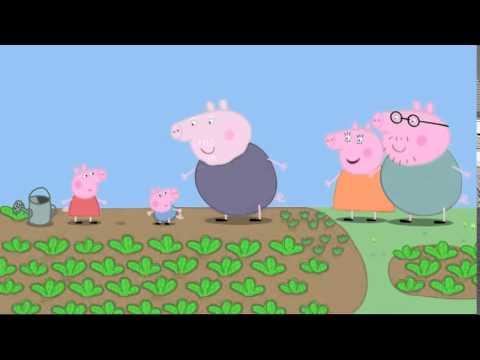 Κηπουρική - Πέππα το Γουρουνάκι Νέα Επεισόδια Ελληνικά - Peppa pig greek new - παραμύθια για παιδιά