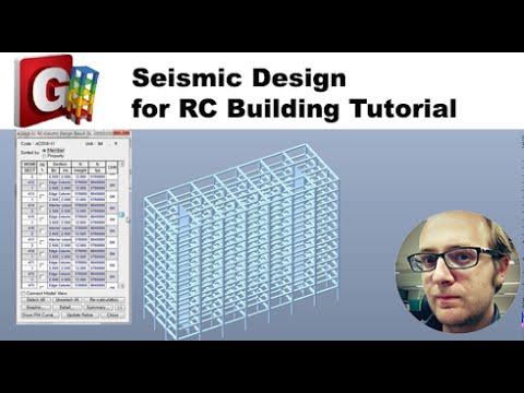 Reinforced concrete building Design Tutorial in midas GEN