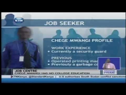 KTN Job Centre: Chege Mwangi, Job Seeker