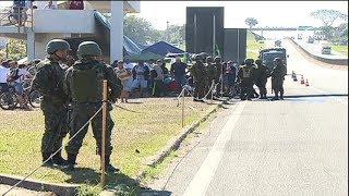Depois de dez dias, termina a greve dos caminhoneiros