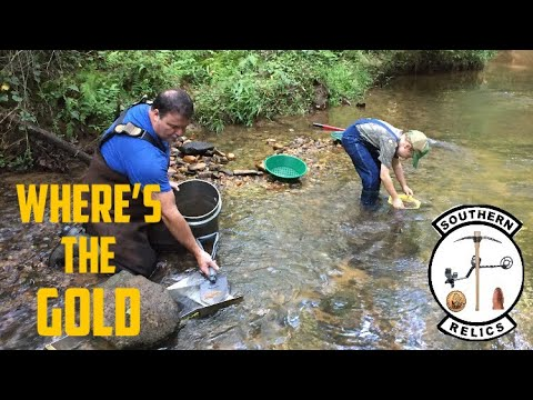 Gold Prospecting Upstate SC