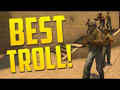 BEST EVER TROLL STRATEGY - CS GO Funny Moments in Competitive
