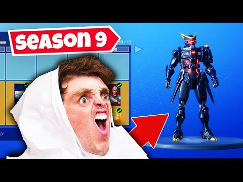 SEASON 9 BATTLE PASS (100% BORING)