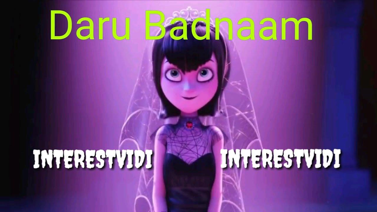 Daru Badnaam cartoon style