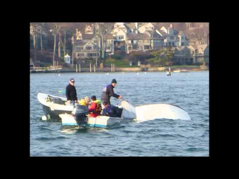 Norwalk YC Frostbite Sailing Pictures 2015 16