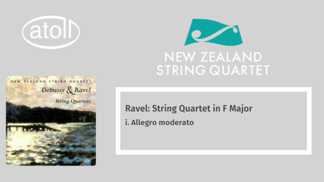 Ravel: String Quartet in F major