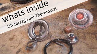 Wie funktioniert ein Thermostat? was ist eigendlich drin?