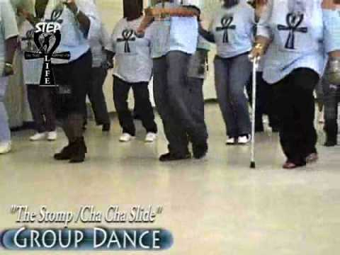 "Step / Line Dance - ""The Stomp/Cha Cha Slide"""