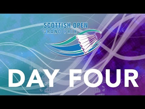 Scottish Open Grand Prix - Day Four | LIVE