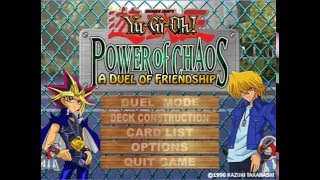 Yu-Gi-Oh! Power of Chaos A Duel of Friendship (Yugi Vs Joey) (PC) GAME