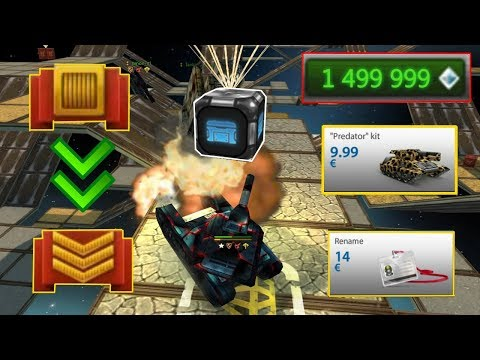 Tanki Online - Road To Legend #1 New Account u0022Xenon.Tou0022 Buying u0022Predatoru0022 Kit