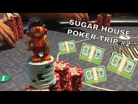 PHILADELPHIA POKER TRIP | SUGAR HOUSE CASINO ROUND 2