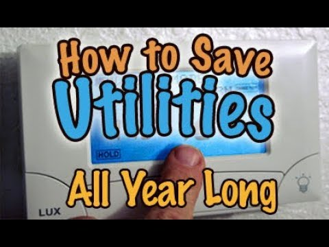 How To Save On Utilities All Year Long - appliances, thermostats, pellet stoves, dual systems