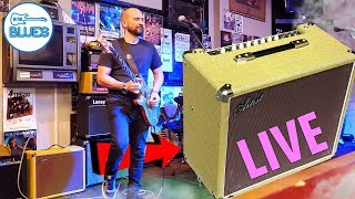 The Artist TweedTone 20R Amplifier Live Play Test