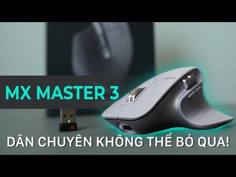 Đánh giá chuột Logitech MX Master 3 - ĐỔI NGAY THÔI !