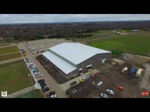 WRA Architects   Crandall ISD Multi-Purpose Center Construction Update