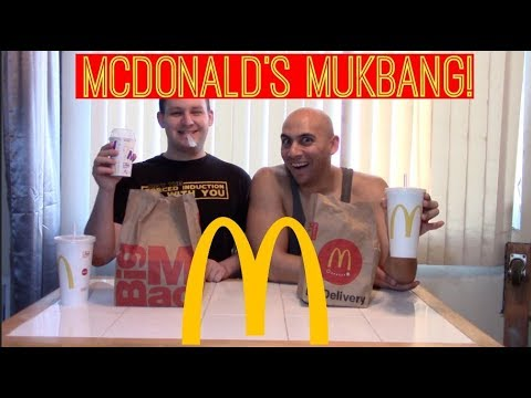 McDonald's Mukbang Monday