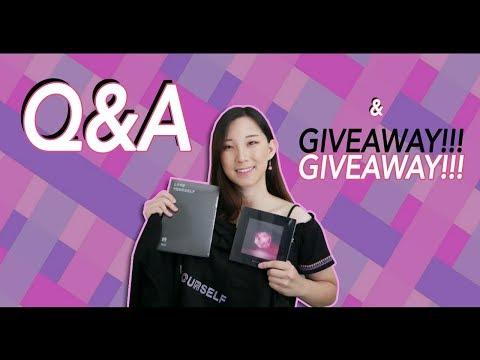 Q&A for 5k! 🎵BTS, BLACKPINK INTERNATIONAL GIVEAWAY