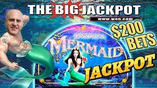 THREE JACKPOTS! 🧜MYSTICAL MERMAID 🧜 $200 SPINS + 20 FREE GAMES 😱