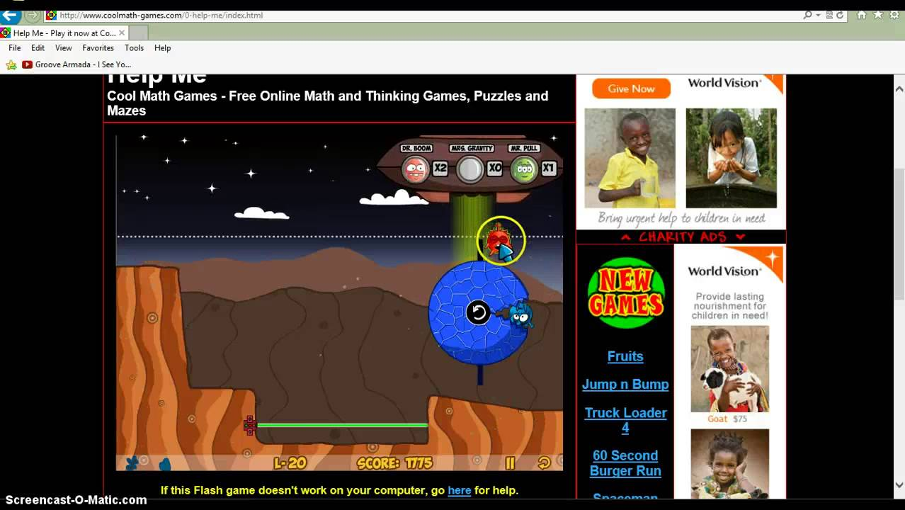 Help Me Gameplay/Cool Math Games Review Part 2 - YouTube