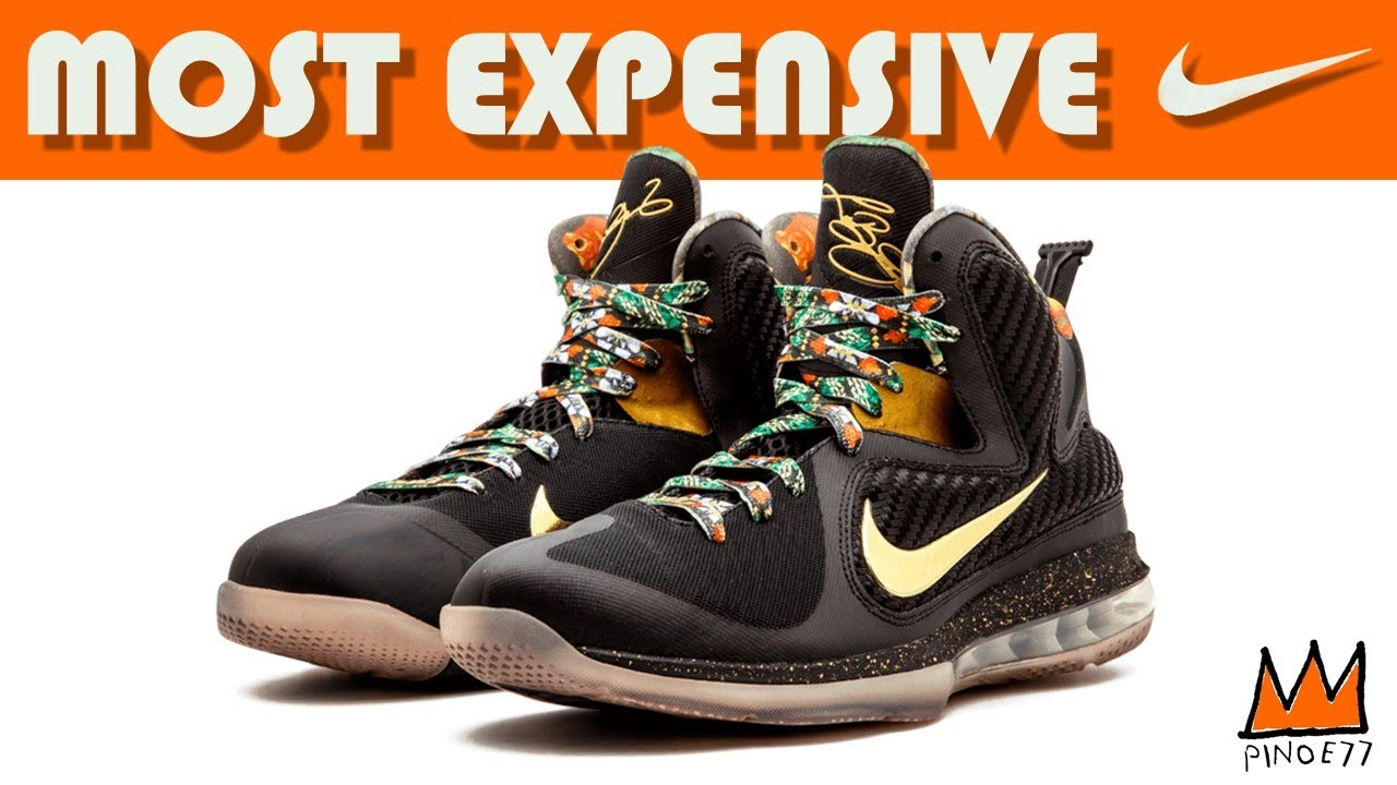 CAN YOU GUESS NUMBER 1 - MOST EXPENSIVE NIKE BASKETBALL EDITION