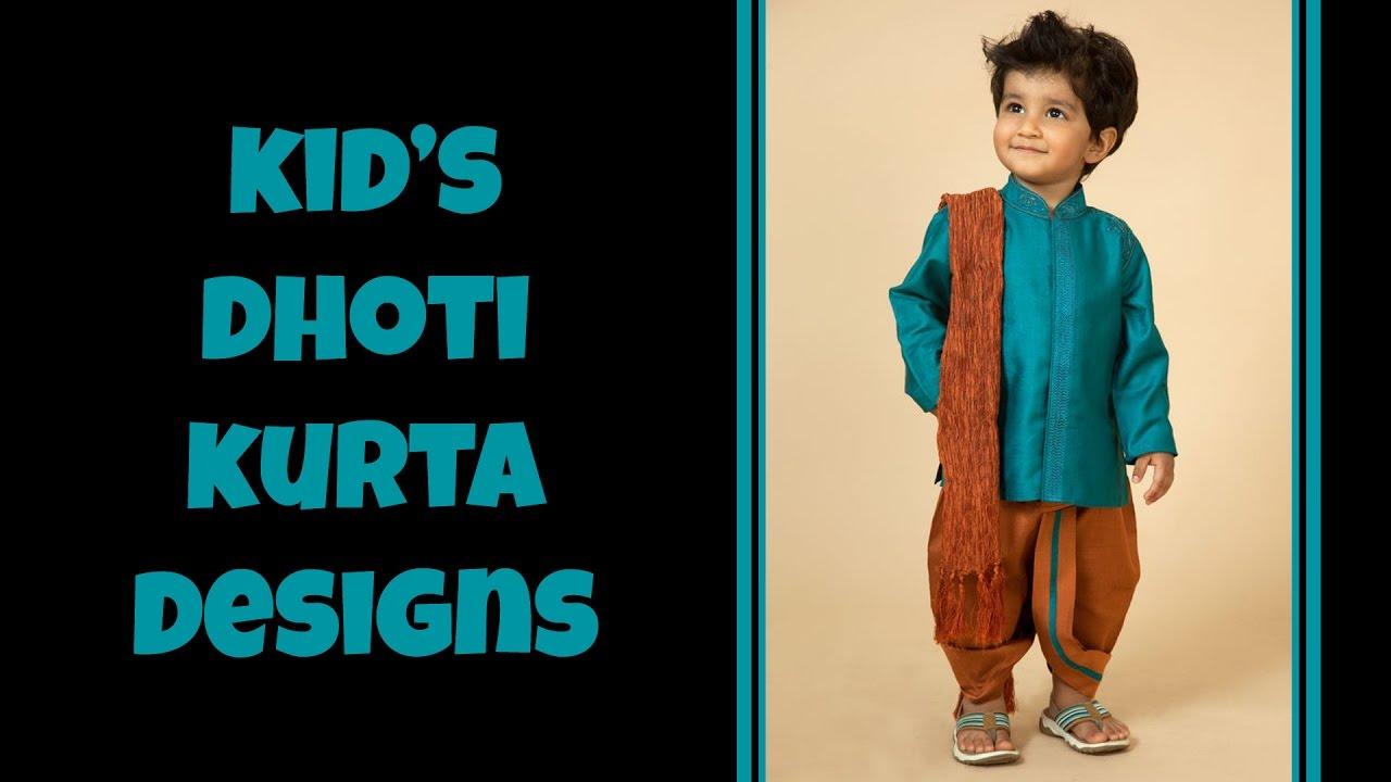 4a78961040d Kid s Dhoti Kurta Dress Designs - YouTube
