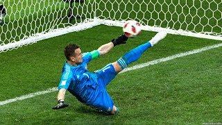 Самые НЕВЕРОЯТНЫЕ сейвы пенальти в футболе