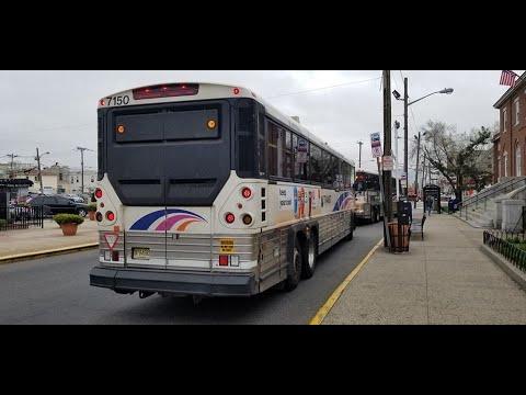 NJ Transit 190 (7150) New York🗽 via Secaucus & Union City