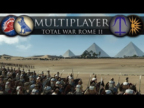 Successors of the Pyramids (Total War: Rome II Online Battle #272)