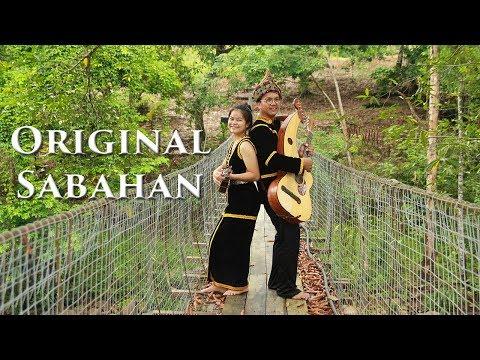 Original Sabahan (Atmosfera) Harp Guitar cover Babagon Penampang