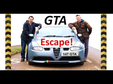 Escaping In A Hot Alfa Romeo 147 GTA!!