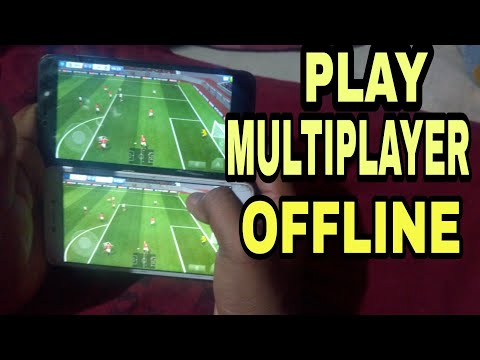 Play Offline Football Multiplayer On Android Via WiFi(Hindi)