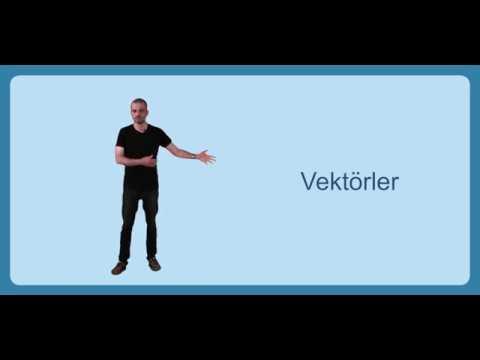 Üniversite Fizik I - Bölüm 1.3 Vektörler, Vektörlerin Toplanması
