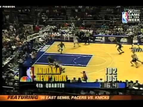 Reggie Miller- 8 points in 9 seconds